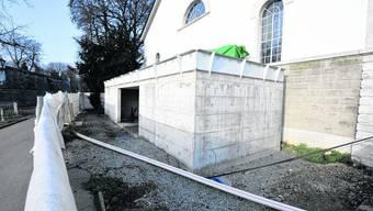 Weiterhin Geduld gefragt: Laut dem neuem Stadtplan ist bei der Reithalle eine öffentliche Toilette zu finden, in Realität trifft man dort noch immer eine Baustelle. Oliver Menge