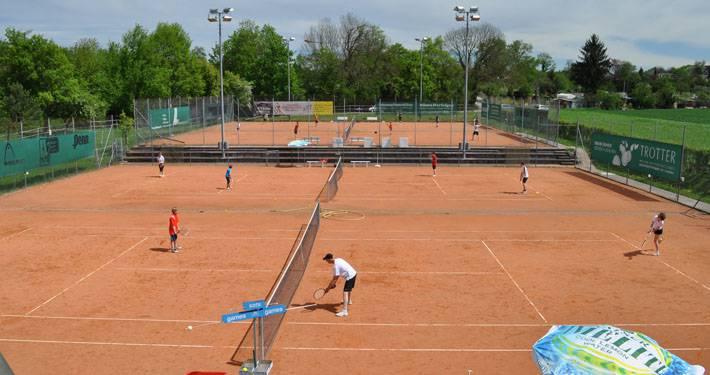 Beim Tennisclub Aarau darf jeder spielen