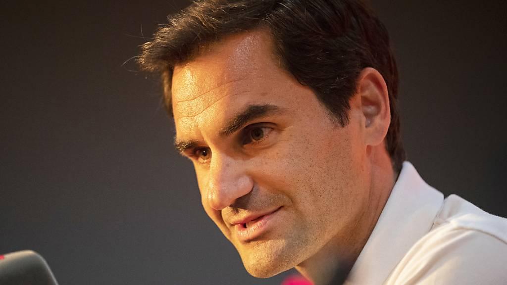 Roger Federer kündigt den Organisatoren des Australian Open seine Teilnahme an