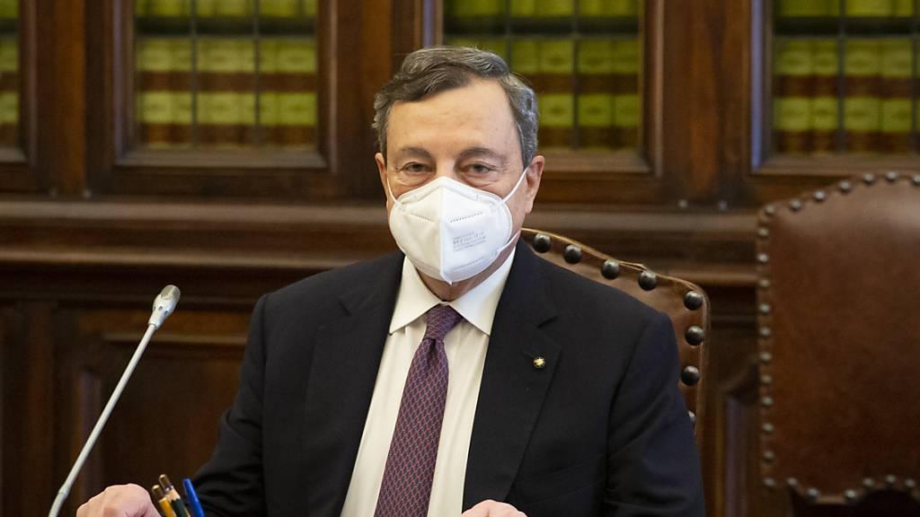 Fünf-Sterne-Bewegung unterstützt geplante Regierung unter Draghi