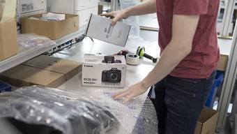 Die Online-Händler Galaxus will in Deutschland Fuss fassen. In wenigen Wochen wird der Hauptsitz in Hamburg bezogen.