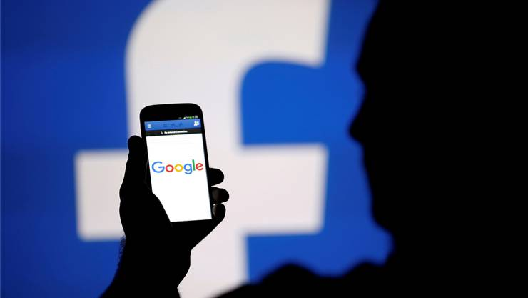 Google und Facebook profitieren im Online-Werbemarkt.