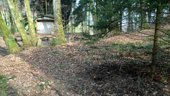 Hier wurde der Leichnam von Marco Knecht gefunden.