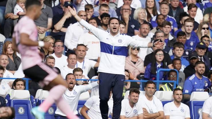 Frank Lampard wartet noch auf den ersten Sieg als Trainer von Chelsea
