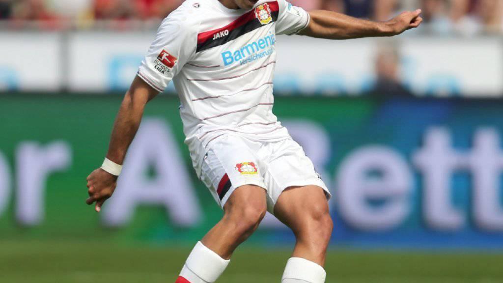 War mit seinen 17 Toren in 28 Spielen in der vergangenen Bundesliga-Saison eine wichtige Stütze bei Bayer Leverkusen: Javier Hernandez, genannt Chicharito