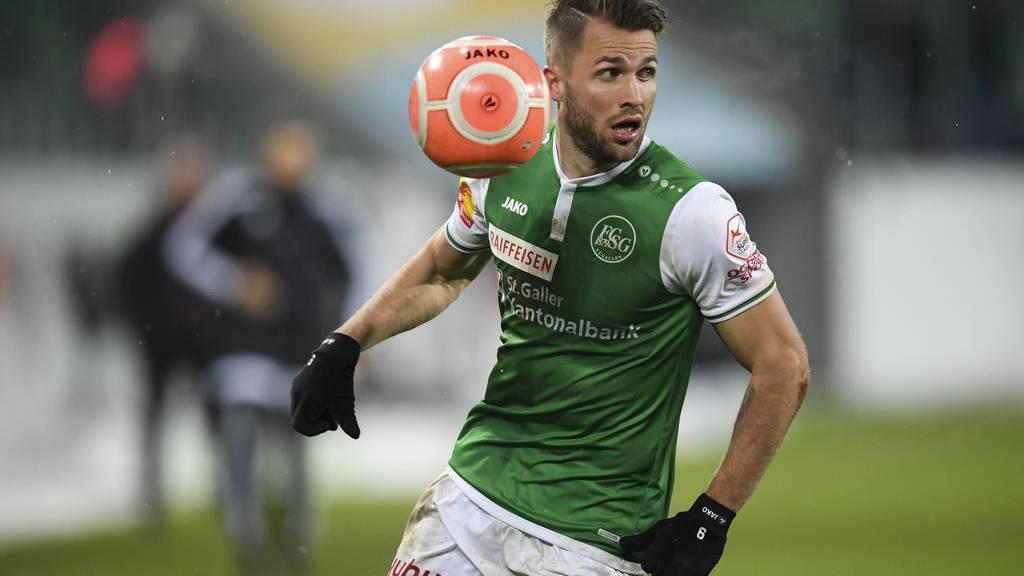 Gelungener Rückrundenstart: Der FCSG gewinnt mit Roman Buess gegen den FC Sion verdient mit 3:2.