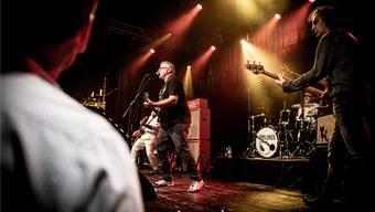Am Wochenende trat die Solothurner Band «The Failures» in der Kulturfabrik Kofmehl auf.