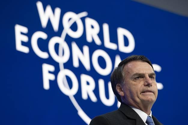 Brasiliens Präsident Jair Bolsonaro.