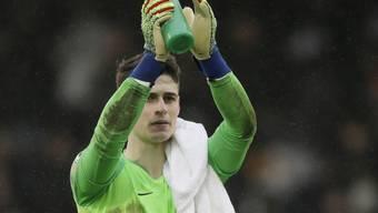 Zurück im Tor: Chelsea lässt bei seinem Goalie Kepa Arrizabalaga Gnade walten