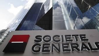 Die französische Grossbank Société Générale beschäftigt weltweit rund 148'000 Personen, darunter 650 in der Schweiz. (Archivbild)