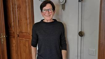Jetzt kommen andere Zeiten: Regina Lehmann in ihrer Wohnung in Reitnau.