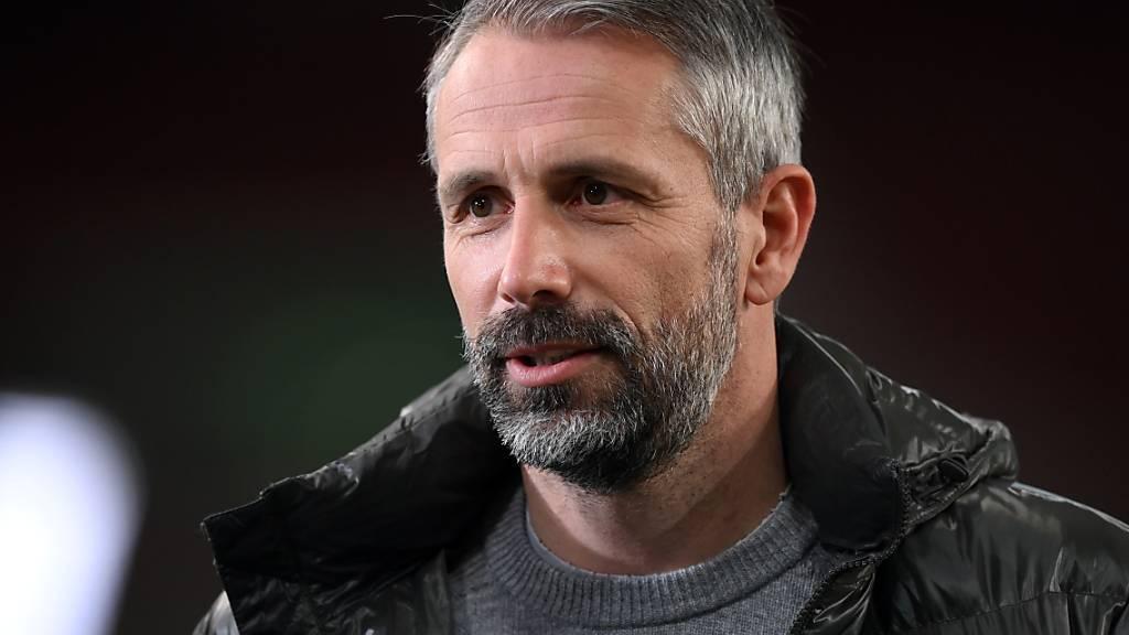 Marco Rose wechselt von der einen zur anderen Borussia
