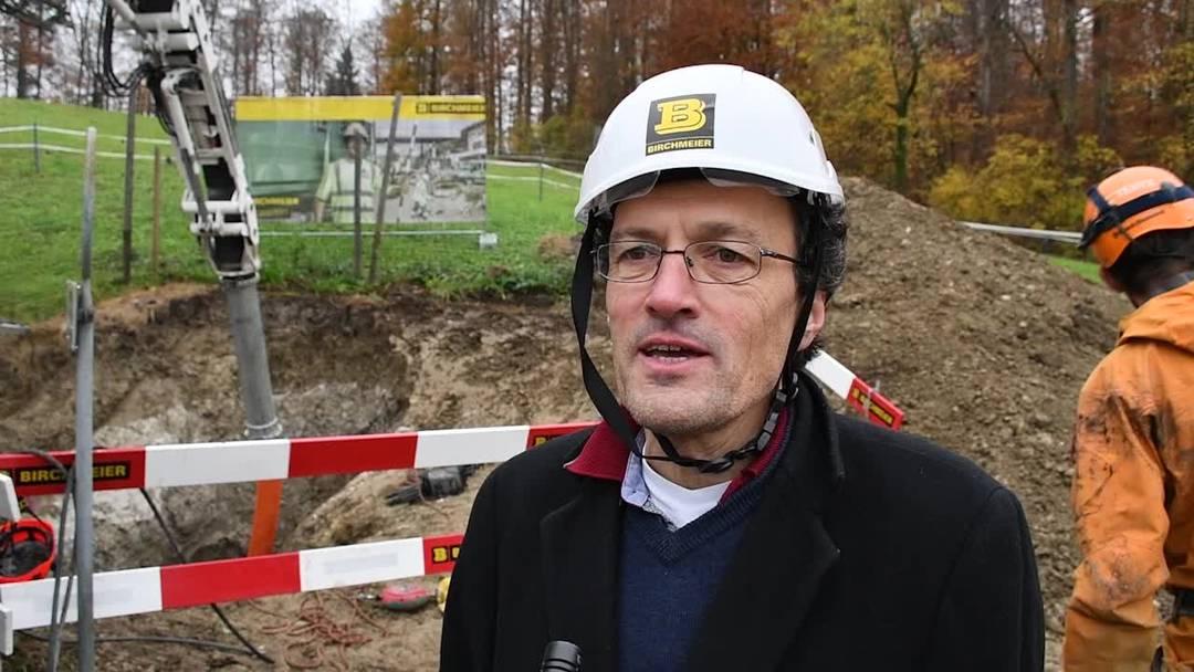Johannes Jenny, Geschäftsführer von Pro Natura Aargau, über das weitere Vorgehen beim Loch in Habsburg