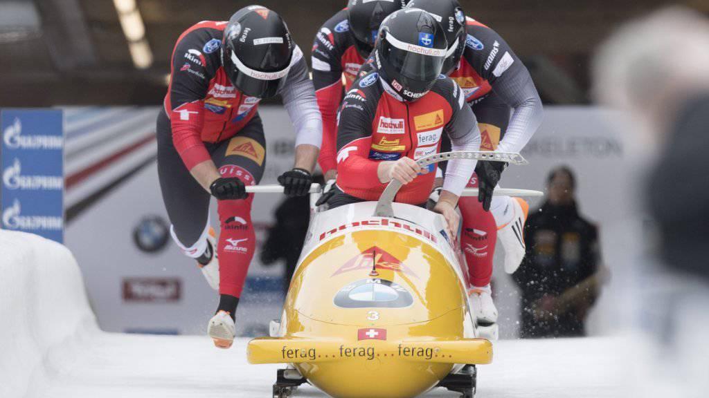 Rico Peter fuhr im Vierer in Tirol aufs Podest