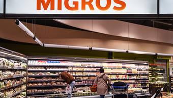 Der Detailhandel hat 2018 zugelegt: eine Migros-Filiale bei Zürich.