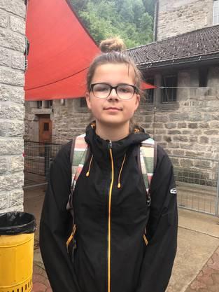 Katrin gab heute bereitwillig und offen Auskunft über ihre bisherigen Erlebnisse während der Wanderung.