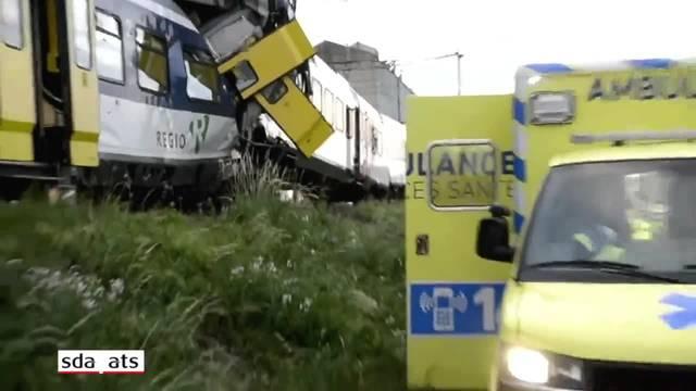 Zugunglück von Granges-Marnand wird in zweiter Instanz verhandelt