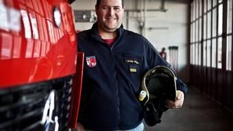 Feuerwehrkommandant Stefan Moser ist seit vier Jahren für die Brandbekämpfung verantwortlich. Chris Iseli