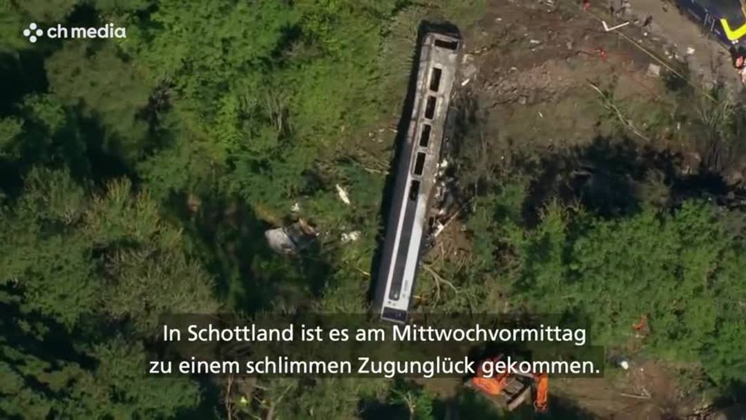 Schottland: Zugunglück fordert drei Tote
