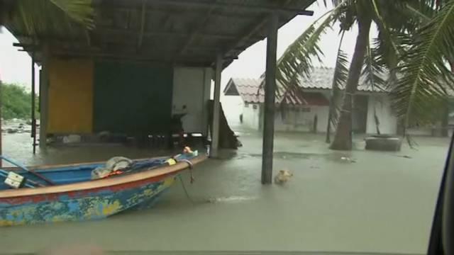 Erste Todesopfer bei Sturm in Thailand