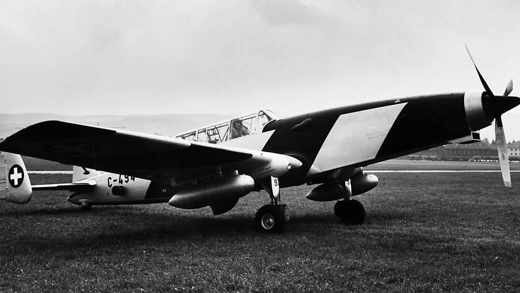 Die Armee sucht nach alten Militärflugzeugen, die sie im Jahr 1987 versteigert hatte, weil darin radioaktives Material gefunden wurde. (Symbolbild)