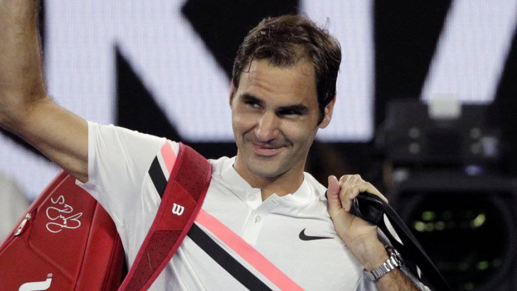 Mit der Qualifikation für die Halbfinals Rotterdam könnte Roger Federer Rafael Nadal als Weltnummer 1 ablösen