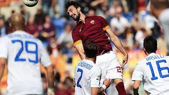 Nur ein Remis für die AS Roma (im Bild Davide Astori)