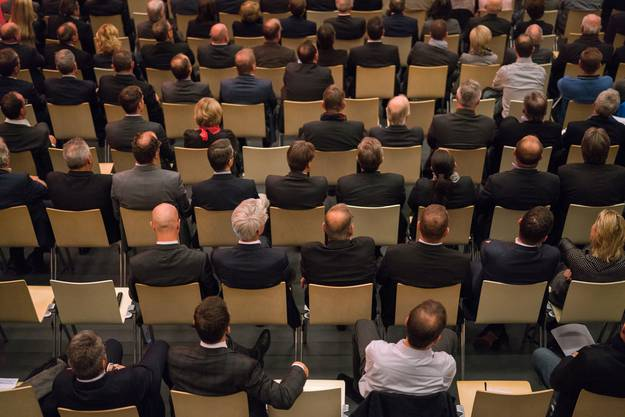 Mehrere hunderte Zuschauer besuchten die Stadthalle in Dietikon.