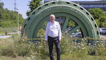 «Bis auch bei der letzten technischen Anlage das Schildchen ausgetauscht ist, werden noch ein paar Jährchen vergehen»: Conrad Ammann, CEO der früheren EBM, neu Primeo Energie.