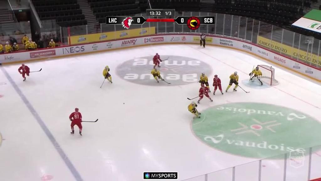 Nach Sieg gegen Bern ist Lausanne wieder in Führung