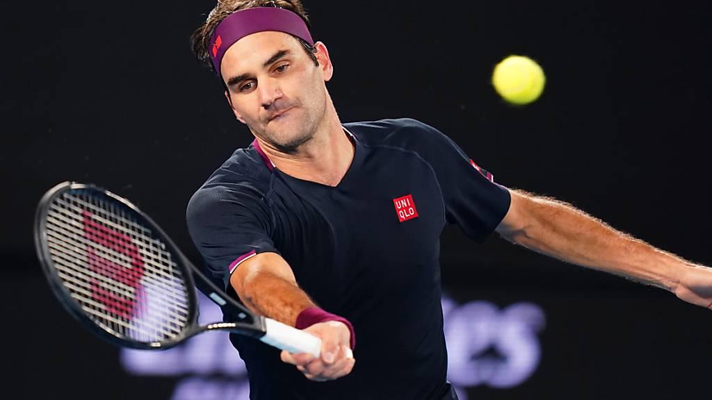 Federer zieht nach Fünfsatz-Thriller in die Achtelfinals ein