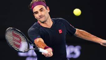 Roger Federer steht nach einem Fünfsatz-Krimi gegen den Einheimischen John Millman am Australian Open in den Achtelfinals