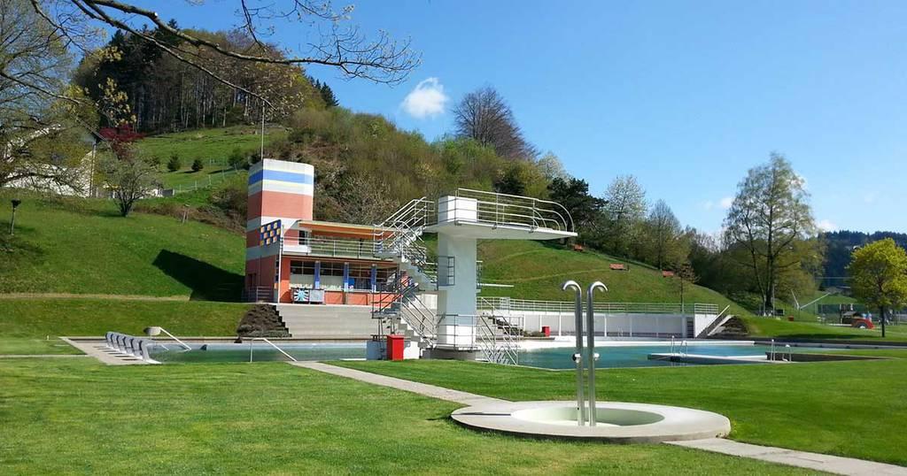 Die Badi in Heiden steht unter Denkmalschutz.