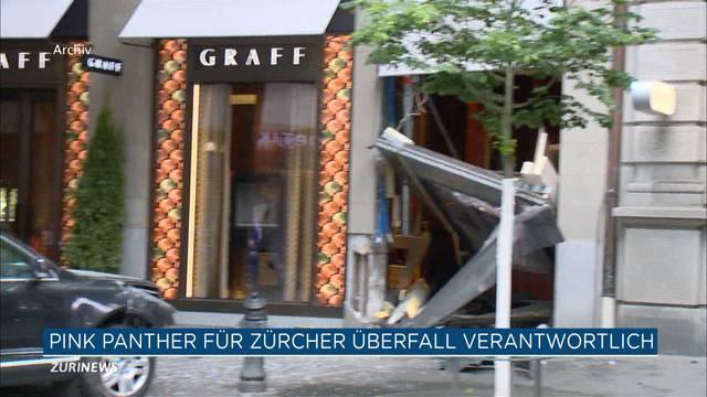 Juwelier-Überfall Zürich: «Pink-Panther-Dieb» im Visier