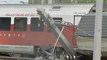 Beim Zusammenstoss im Wiener Bahnhof Meidling sind mehrere Menschen verletzt worden.