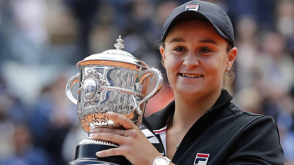 Weltranglisten-Erste Barty verzichtet auf US Open