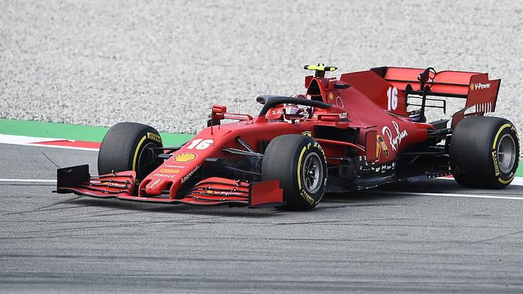 Die Sorgenfalten bei Ferrari werden derweil nicht kleiner. Für Charles Leclerc war das Rennen nach 38 Runden wegen eines technischen Defekts vorzeitig zu Ende