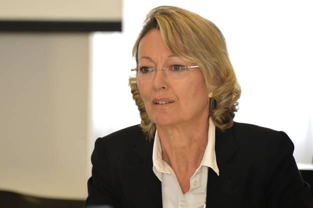 Sylvia Gloor Hohner, leitende Staatsanwältin