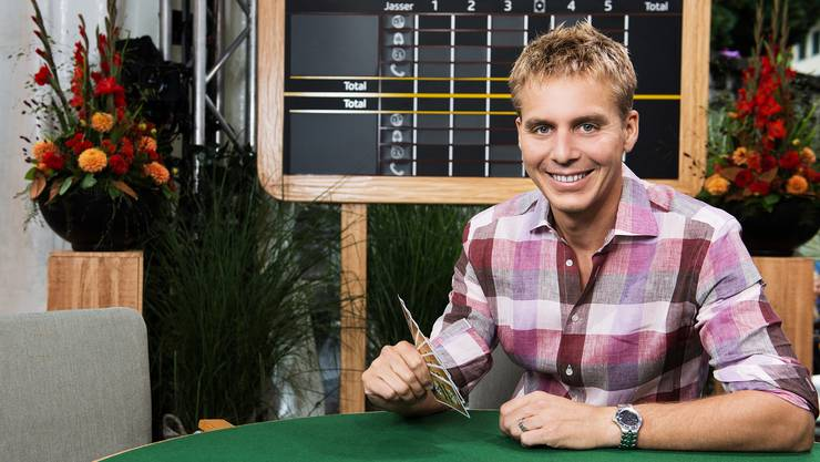 Reto Scherrer steht vor seiner Premiere als Samschtig-Jass-Moderator.