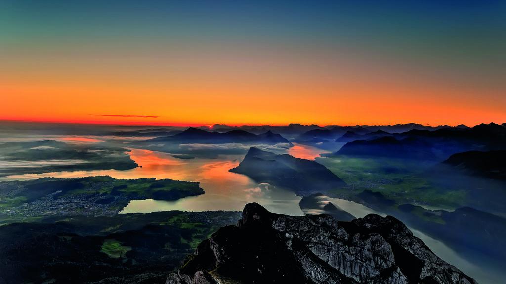 Freizeittipp: Gipfel-Rendezvous mit Abendstimmung auf Pilatus Kulm