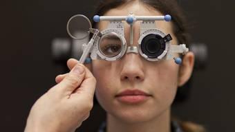 Sehtest: Wird eine Brille bei Kindern fällig, muss wieder die Krankenkasse für Brillengläser zahlen (Symolbild)