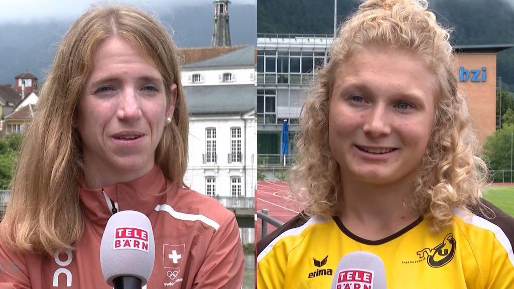Olympische Spiele in Tokio: Leichtathletinnen Martina Strähl und Cynthia Reinle im Porträt