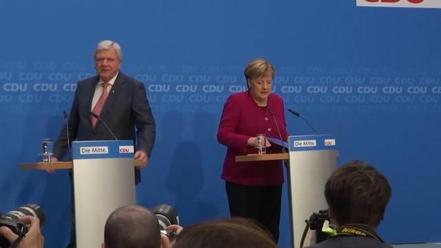 Angela Merkel kündigt ihren Rücktritt an