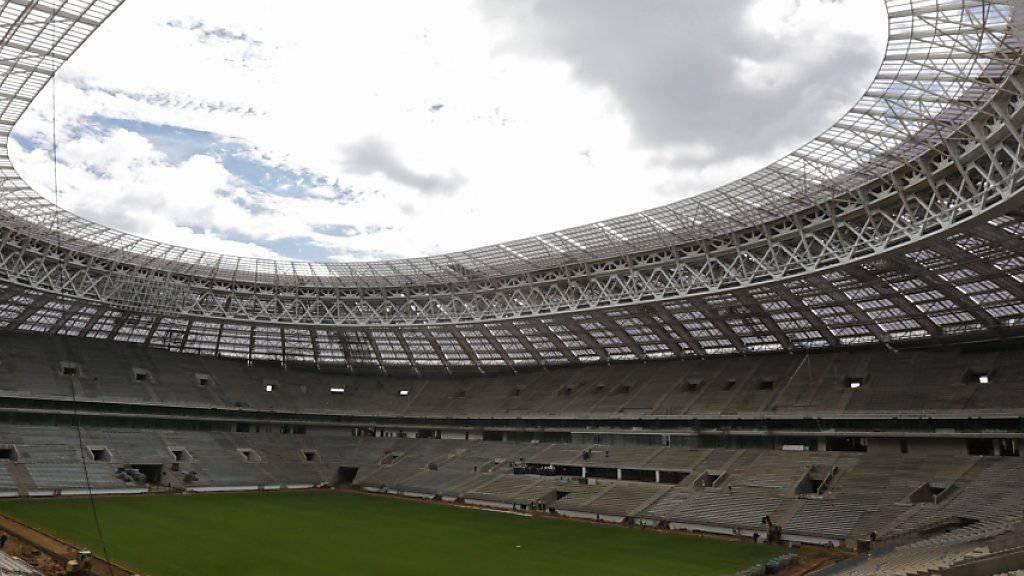 Im Luschniki-Stadion (Bild) beginnt für Russland am 14. Juni 2018 die Heim-WM