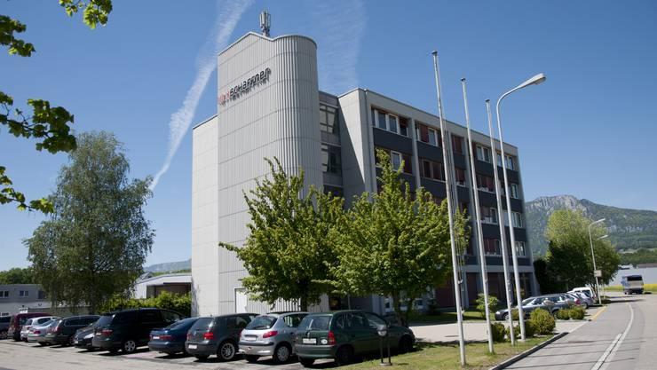 Firma Schaffner in Luterbach