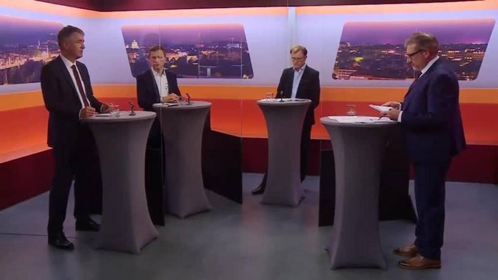 Wahlkampf-Talk «Bäregrabe»: Graffenried, Eicher und Righetti (Teil 2)