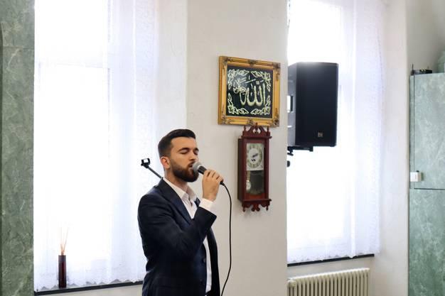 Der Muezzin ruft zum Gebet