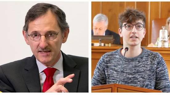Mario Fehr (SP) und Oliver Heimgartner (Juso) tragen öffentlich ihren Zwist aus