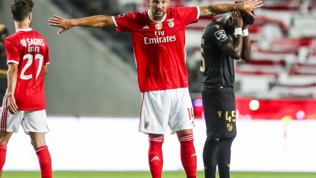 Haris Seferovic erzielte gegen Guimarães das 2:0