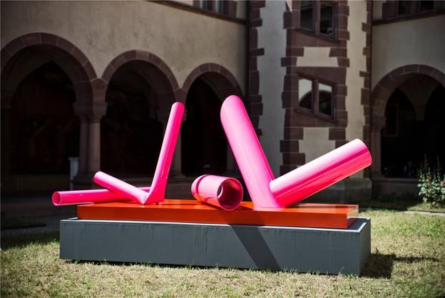David Rengglis «Reclining Nude»: ein fragmentierter Körper als konkrete Kunst.